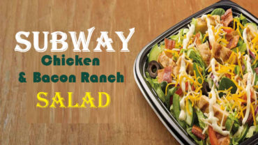 Subway Chicken Salad Calories