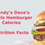 Wendy's Dave's Single Hamburger Calories & Nutrition Information