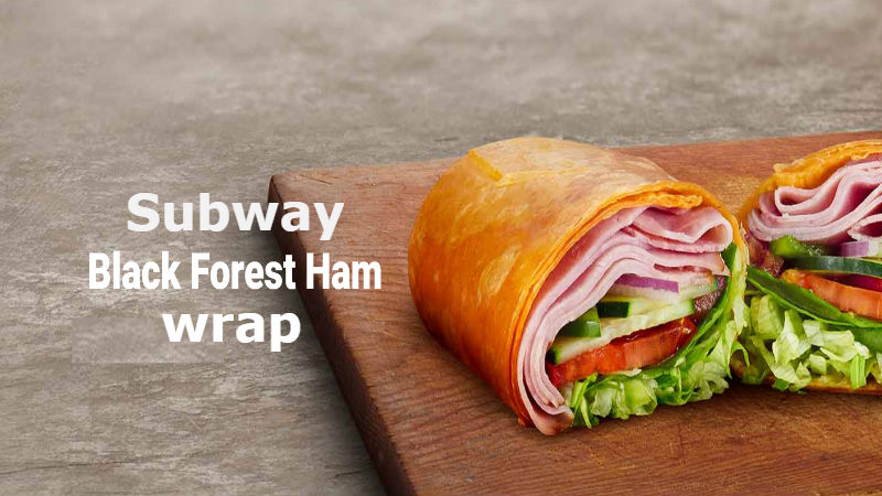 Calories in Subway Black forest Ham wrap