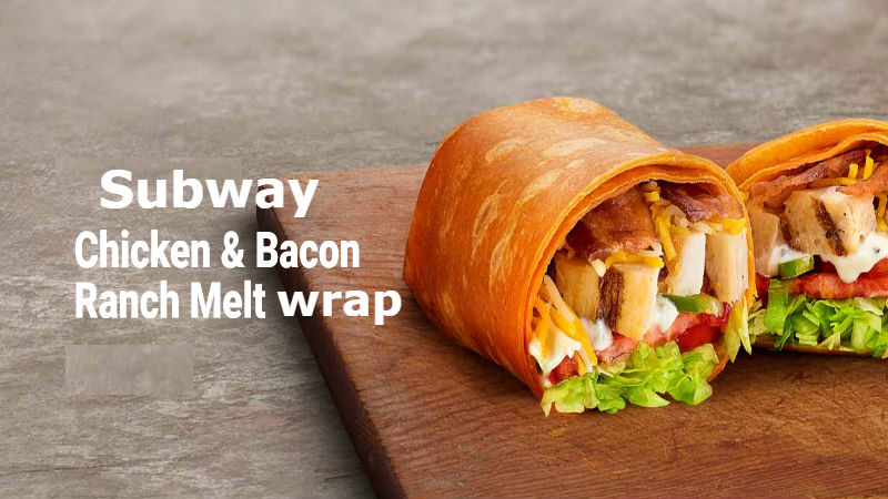 Calories in Subway Chicken Bacon Ranch Melt wrap