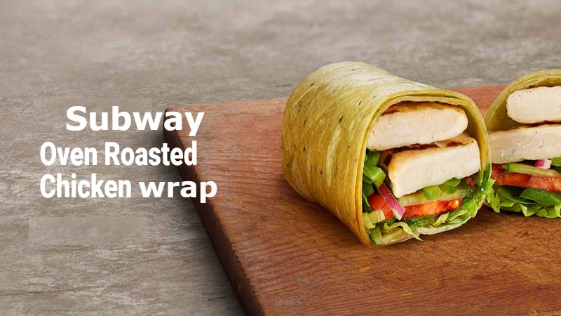 Calories in Subway Oven Roasted Chicken Wrap