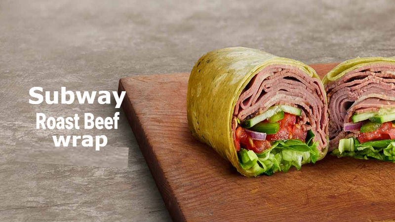 Calories in Subway Roast Beef wrap