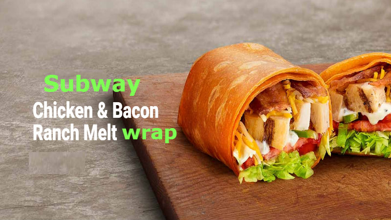 How many Calories in Subway Chicken Bacon Ranch Melt wrap