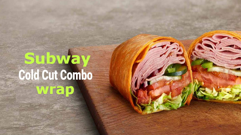 How many calories in Subway Cold Cut Combo Wrap