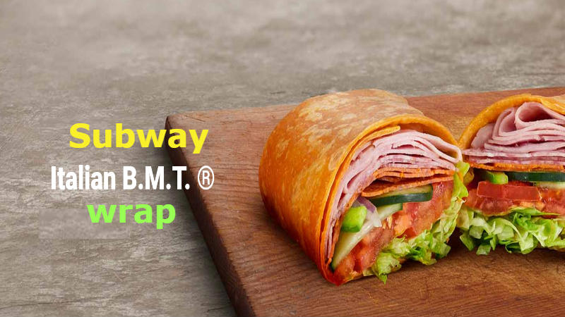How many calories in Subway Italian B M T wrap