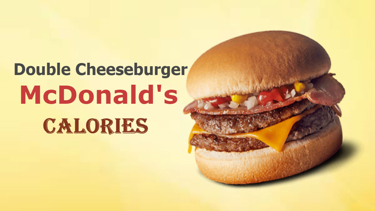 Mcdonalds Double Cheeseburger Nutrition Facts