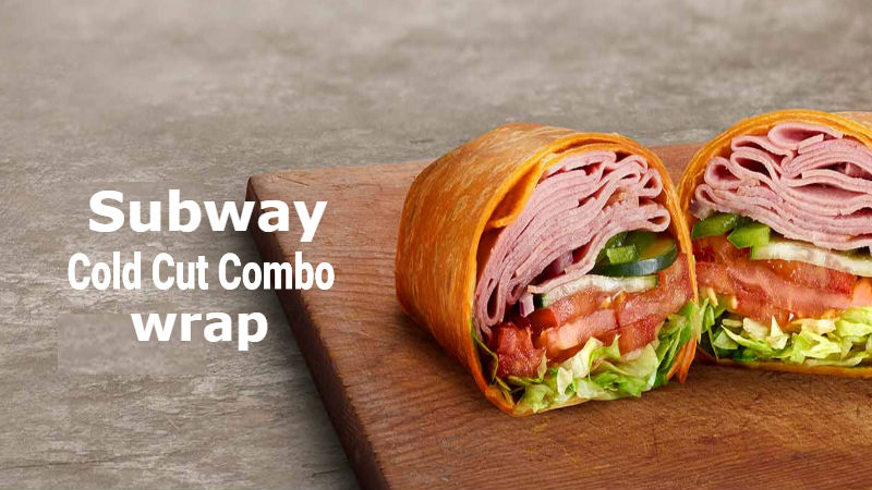 Subway Cold Cut Combo Wrap Calories