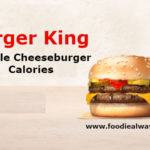 Burger King Double Cheeseburger Calories with Nutrition Facts and Ingredients
