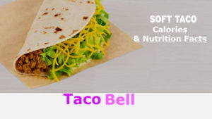 Taco Bell Soft Taco Calories