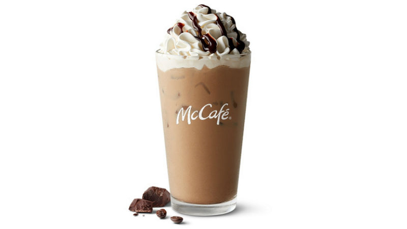 How many Calories are in McDonald's Iced Mocha Coffee?