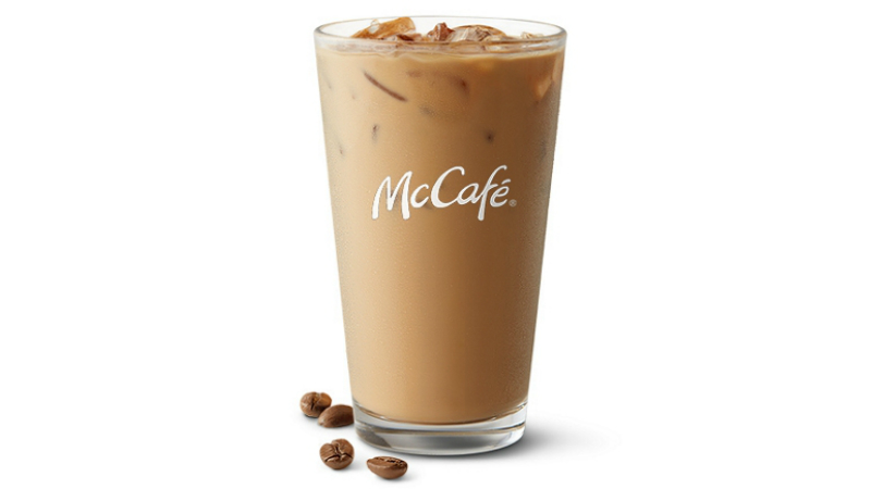 mcdonalds iced coffee calories