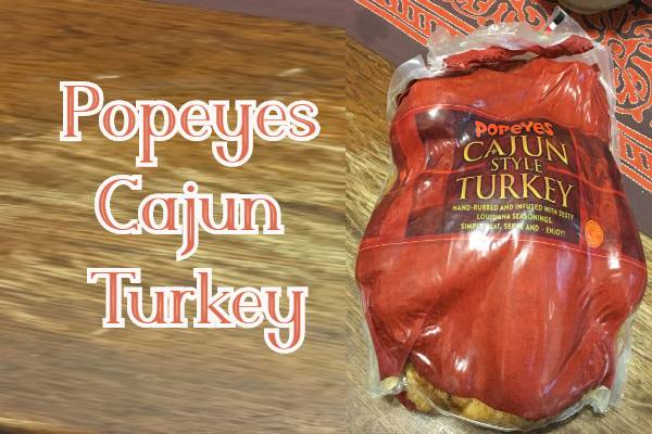 Popeyes Cajun Turkey