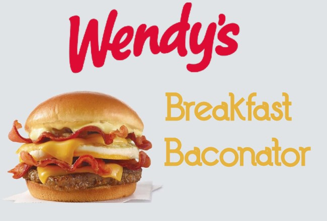 Wendys Breakfast Baconator