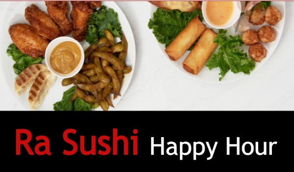 Ra Sushi Happy Hour