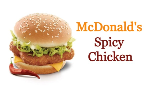 McDonalds Spicy Chicken