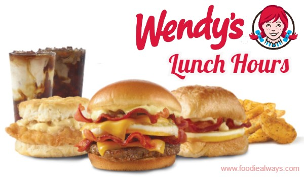 Wendys Lunch Hours