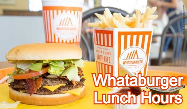 Whataburger Lunch Hours