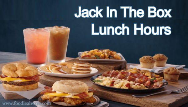 Jack In The Box Lunch Hours