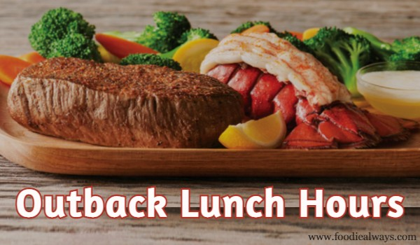 Outback Lunch Hours